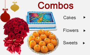 New Year Flowers Cakes Nellore Ongole Online Delivery