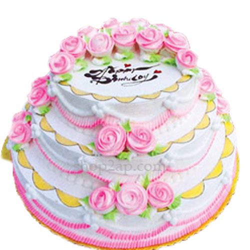 Cake Images With Name Pinky : X-Mas Specials :: Pinky 3 Tier Cake- 6Kgs