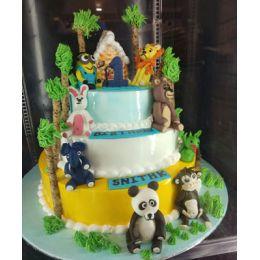 Kids_Tier cake_6kgs