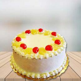 Round Delicious Cake