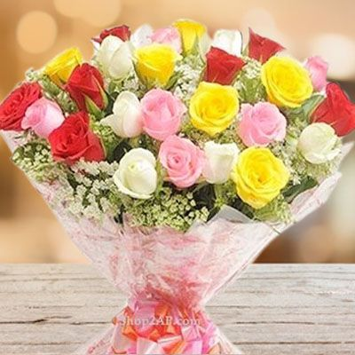 Lovely MultiColor Roses