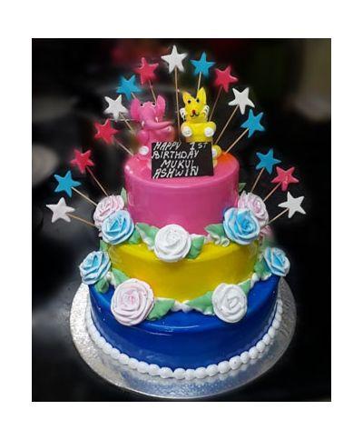 3 Tier Cake_7kgs